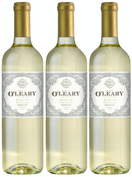 Kevin O'Leary Fall Reserve 3 btl Moscato