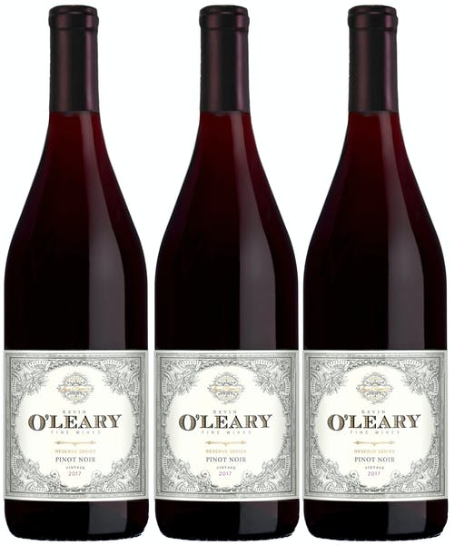Kevin O'Leary Fall Reserve 3 btl Pinot Noir