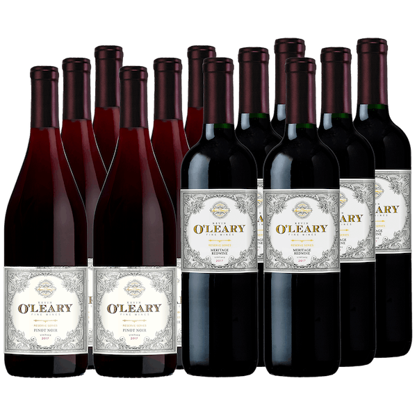 O'Leary Holiday Selections 12-bottle All Red