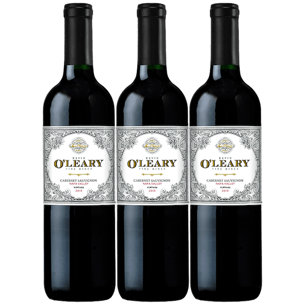 O'Leary 2015 Napa Valley Cabernet Sauvignon 3-pack