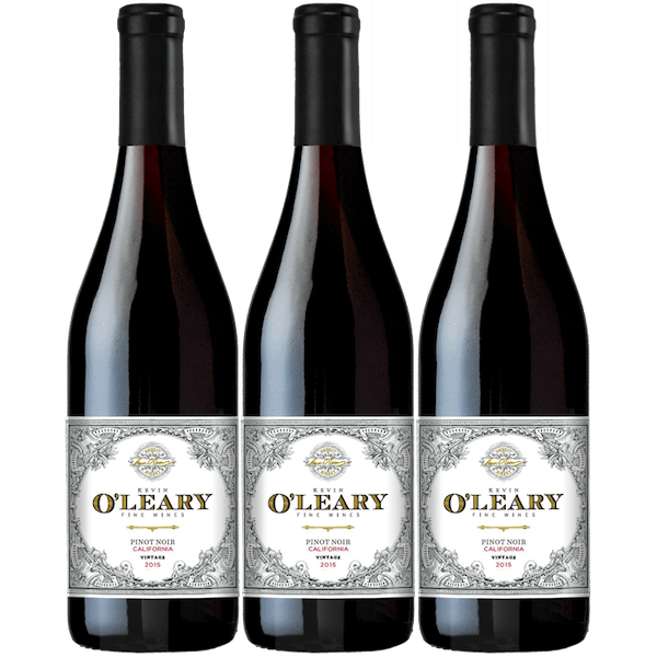 O'Leary 2015 California Pinot Noir 3-pack