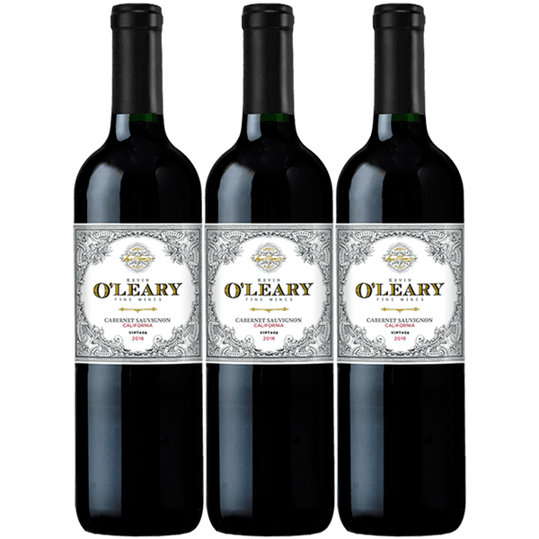 O'Leary 2016 California Cabernet Sauvignon 3-pack