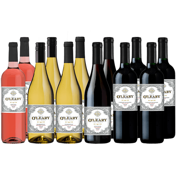 O'Leary 12-bottle Variety Wine Set