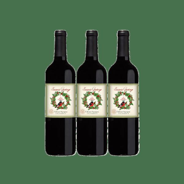 VWE Holiday 3-Bottle Set Cab Sauv