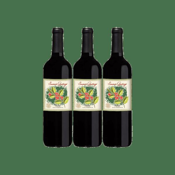 VWE Holiday 3-Bottle Set Merlot