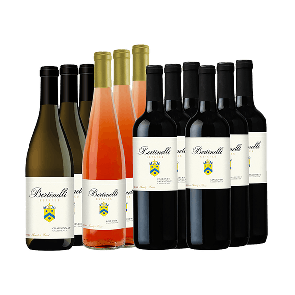Bertinelli Estates Wine Set 12-Bottle Variety