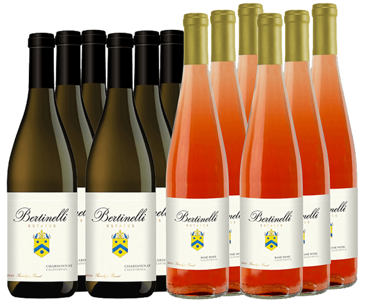 Bertinelli Estates Wine Set 12-Bottle All White