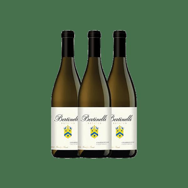 Bertinelli Estates Wine Set 3-Bottle Chardonnay