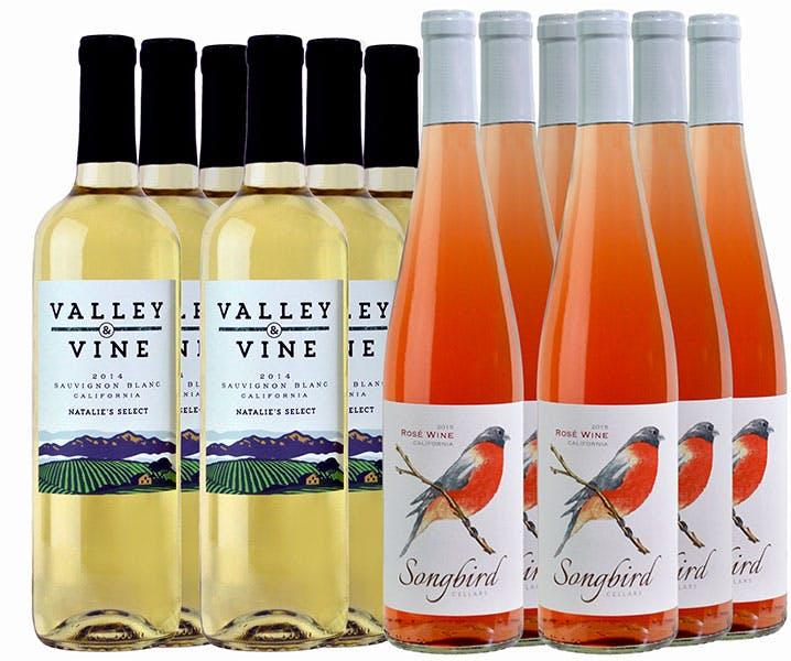 M57401-849 Winemaker Selections 12-btl All White