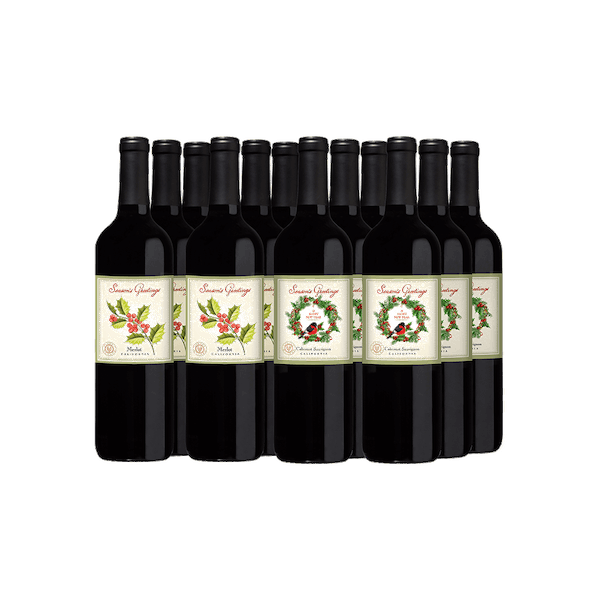 VWE Holiday 12-Bottle Set All Red
