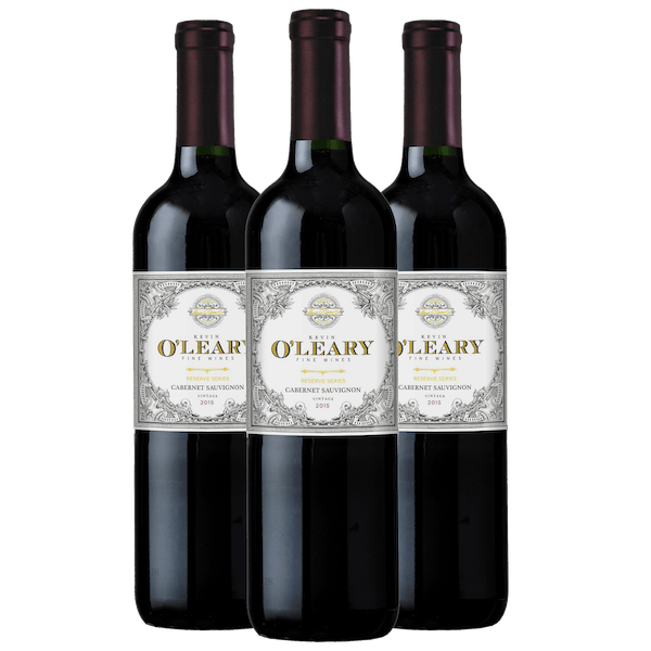 O'Leary Wonderful Wines 3-Bottle Set Cabernet Sauvignon