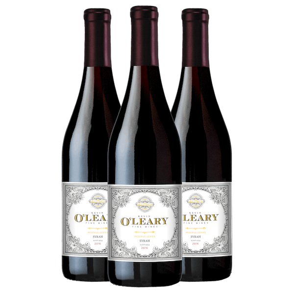 O'Leary Wonderful Wines 3-Bottle Set Syrah