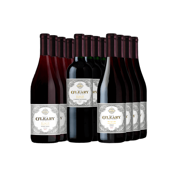 O'Leary Wonderful Wines 12-Bottle Set All Red