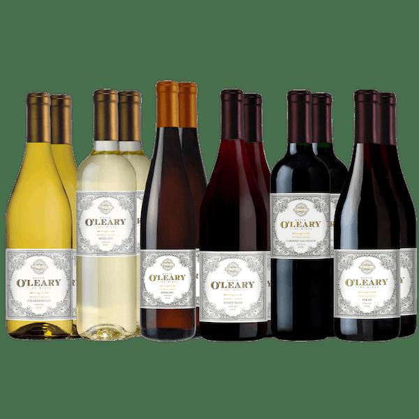 O'Leary Wonderful Wines 12-Bottle Set Variety