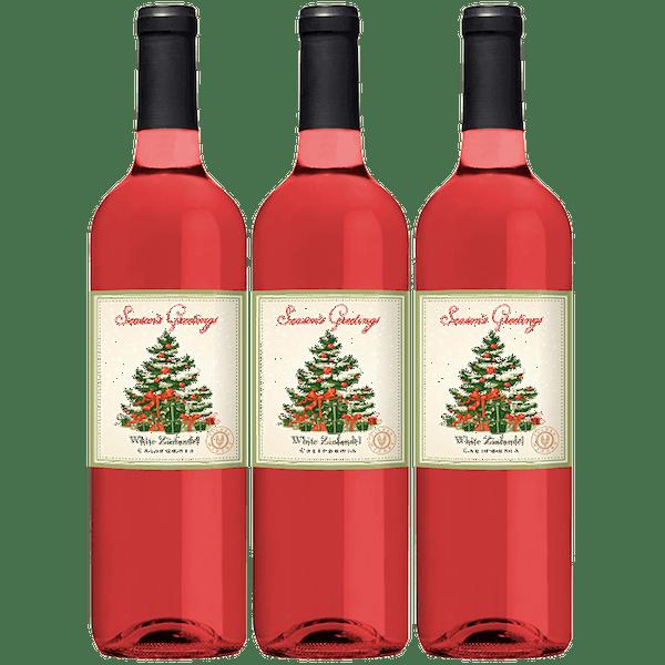 VWE Holiday 3-Bottle Set White Zinfandel