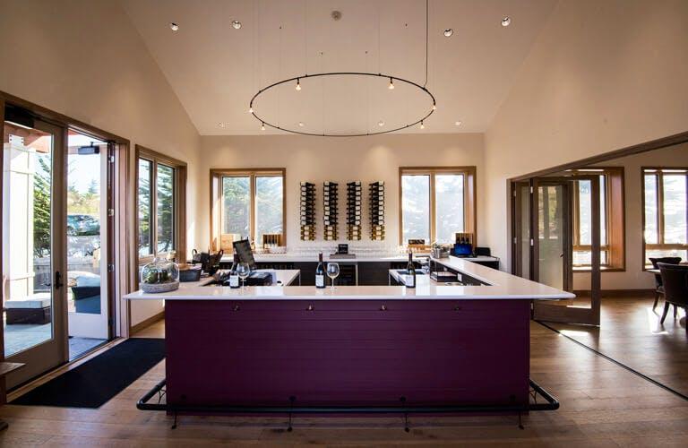 Sonoma Coast Vineyards Tasting Room Bar